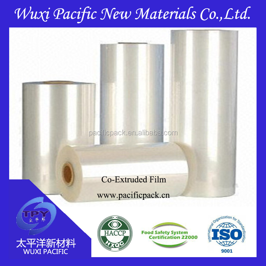 Hot sale 9 layers high barrier transparency co-extruded PA/PE film