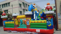 Sunway 2015 inflatable play station/inflatable playground/giant inflatable playgrounds