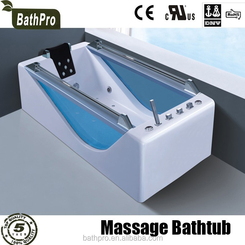 Price Of Glass Transparent Acrylic Massage Bathtub For Bathroom ...