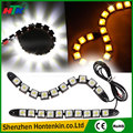 2pcs White 10 LED Long Strip Daytime Running Light DRL Car Fog Day Driving Lamp