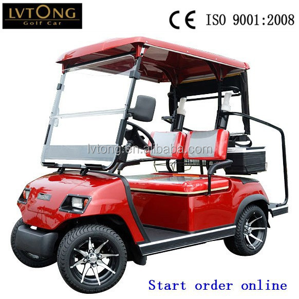 Mini 2 seats electric cart for golf course