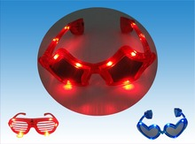 hot selling flashing led star party glasses