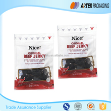customized printing beef jerky packaging bags