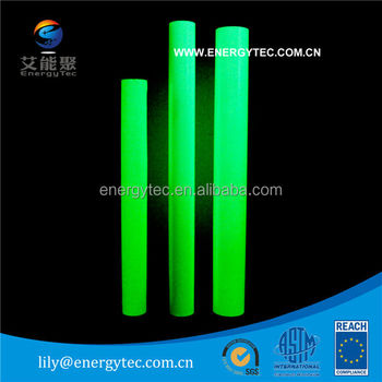 photoluminescent / glow in the dark plotter cutting film /inkjet printing film/ solvent printing film