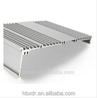 Auto machine made aluminum profiles for computer case