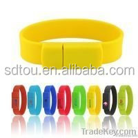 Promotion Gift high speed usb flash drive bracelet with Anti delete function