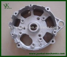 High precision aluminum die casting part, auto engine cover, spare part