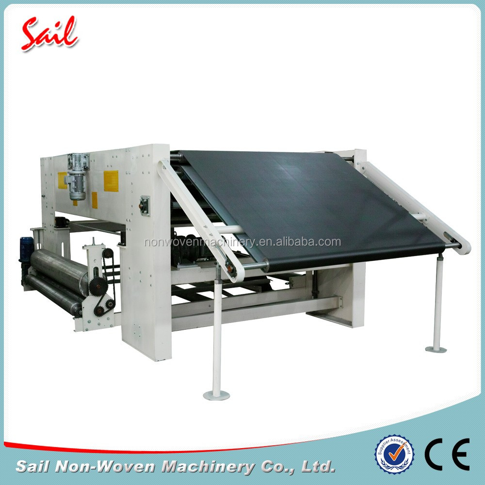 Nonwoven sea island fiber cross lapper machine fiber forming machine