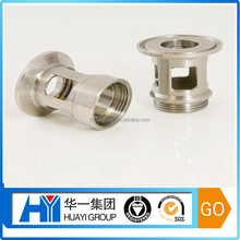 Dongguan OEM High quality Brass/Stainless steel OEM CNC Machining Parts with nickel or gold plated