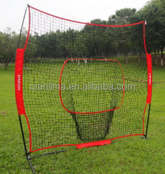 Podiyeen portable hot sell PE practice baseball net