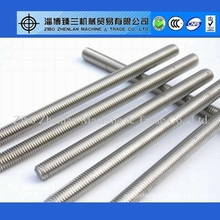 "3/4"" ASTM A193 B7 Stainless Steel threaded rod"
