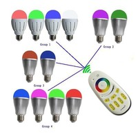 mi light 2.4G Wireless RF Touch 4-Zone RGB RGBW Remote Controller for LED Bulb Downlight Ceiling lamp/led 3528 5050 strip light