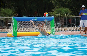 BIKIDI inflatable water volleyball court/Floating inflatable vollyball water sports D3028