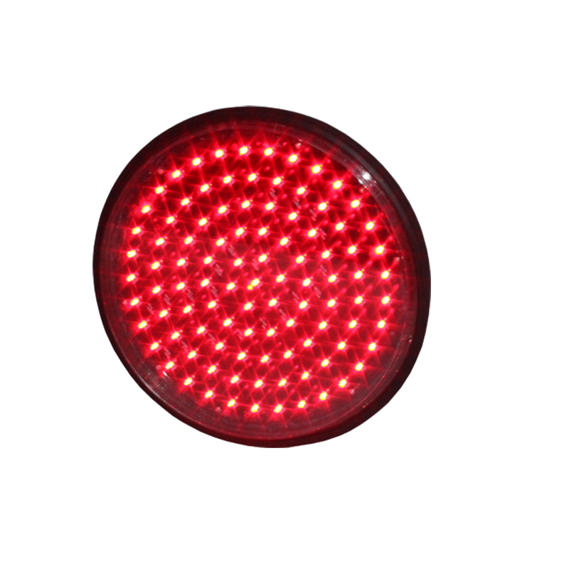 High brightness 300mm traffic signal parts red led traffic light module