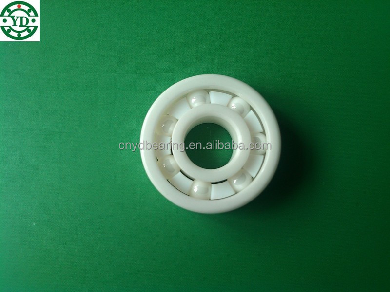 High Performance 606 full ZrO2 ceramic bearing with size 6*17*6mm