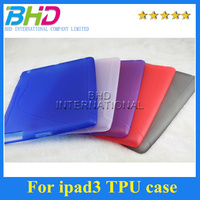 S Line Soft TPU Gel Wave Curve Skin Cover Case for Apple The New iPad 3
