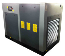 75HP direct driven rotary screw air compressor with air cooling