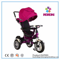 China new model price baby tricycle / rubber wheels children kids trike with trailer / factory wholesale children tricycle