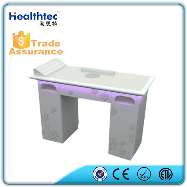 manicure nail table with exhaust fan