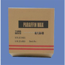 Melting point 58/60 between fully and semi refined paraffin wax price per tones