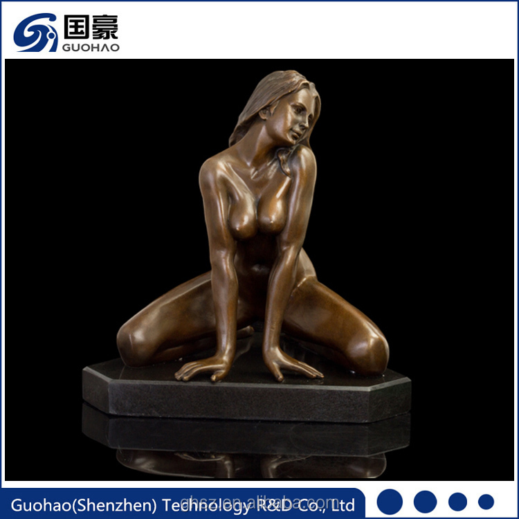 Sexy Nude Women and Naked Lady Bronze Sculpture