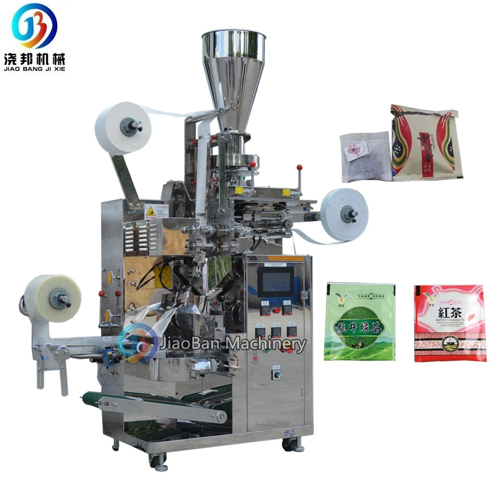 Shanghai hot selling JB-180C automatic vertical filter black and green tea bag packing machine with high quality