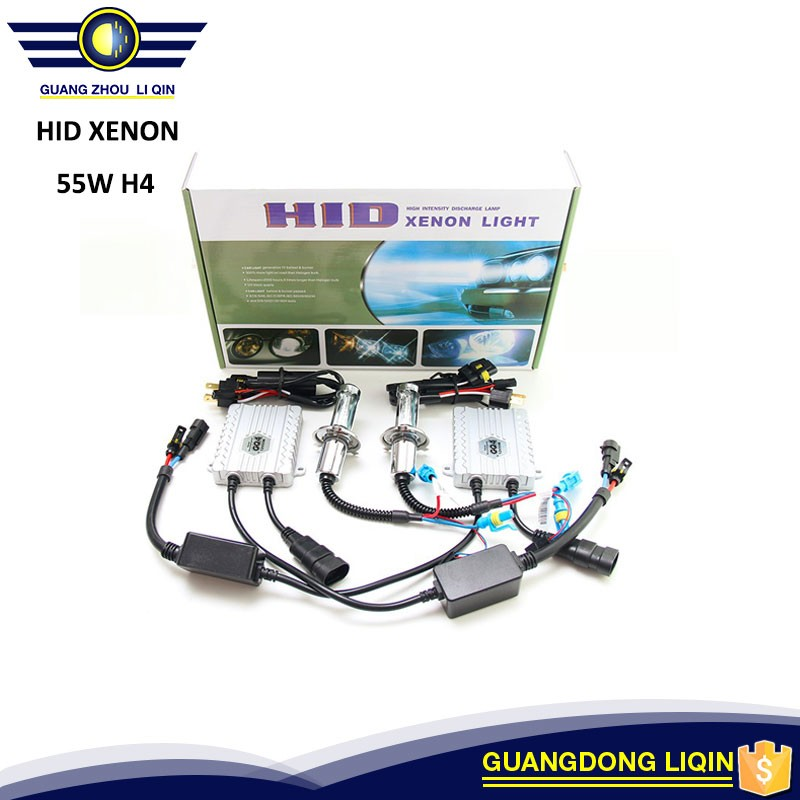 Big Promotions !!! Hot sale 55W AC HID Xenon Kit with Hi/Low bulb 4300K-20000K