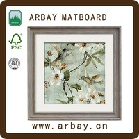 Hot selling frames for paintings certificate frame carbon frame road with white mount board