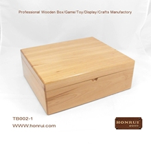 Hot-sale handmade customized solid wood shoe storage box