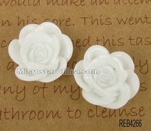 Resin flower cabochon for gift