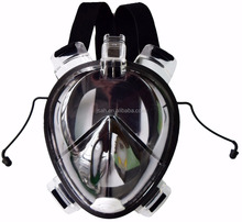 2016 100% silicone diving full mask and snorkel diving set
