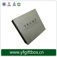 Black Fancy Paper With Customizable Logo For High End Custom Made Magnet Book Shaped Box