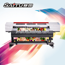 Well Designed Car Wrapping thunderjet v1802s eco solvent printer made in China