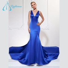 Beautiful Wholesale Modern Simple Elegant Pop Line Evening Dresses