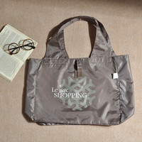 Wholesale 190T Polyester Foldable Tote Shopping Bag