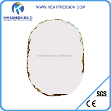 Sublimation ellipse wall picture Stone Photo Rock