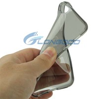Factory Price Soft Clear Transparent TPU Cell Phone Cover For iPhone 5 5S 5G