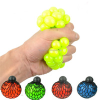 Colorfull Bead Stress Ball Rubber Vent