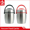 2015 Autumn New Vacuum Food Carrier Red/Black Handle,Electric Lunch Box