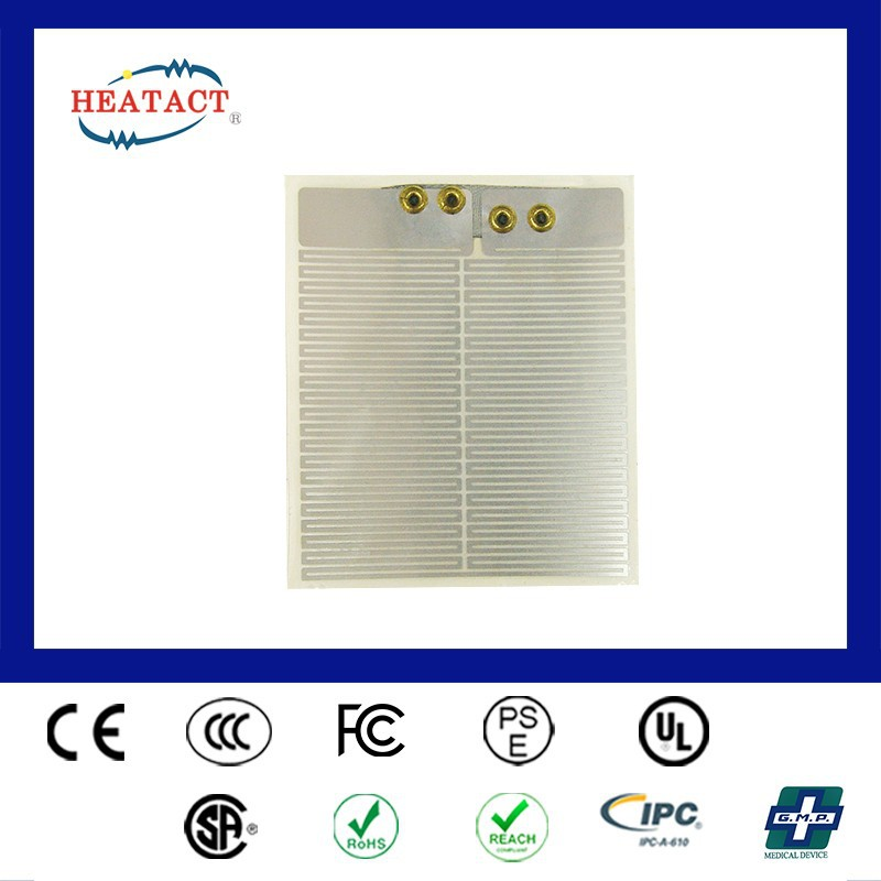 Taiwan customized Electric aluminium Polyester Etched Foil Film Heater