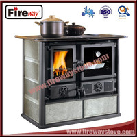 Sheet metal material/cooking with oven cast iron stove