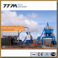 40t/h mobile mini asphalt plant for sale, machine bitumen production