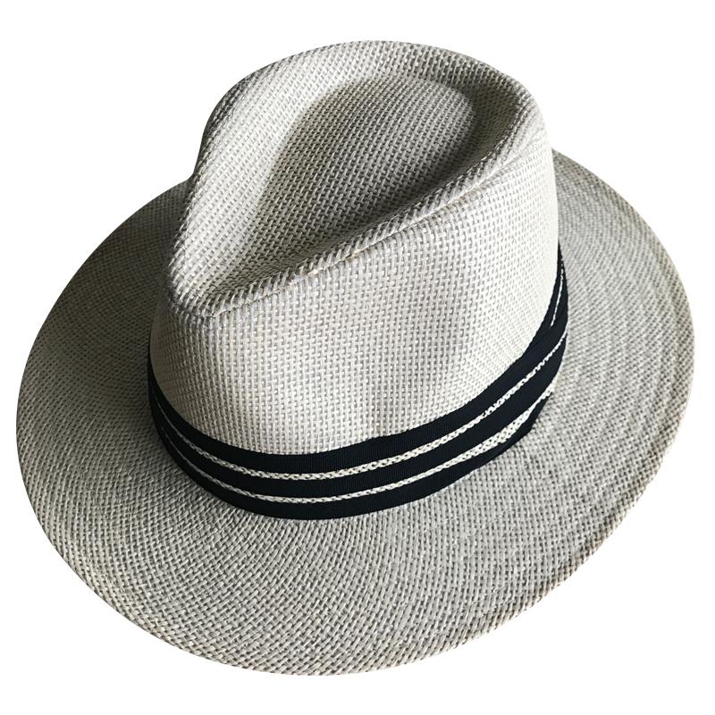 b58ed87b10d43 Fábrica de preço barato simples atacado homem mulher do panamá chapéus de  palha do verão