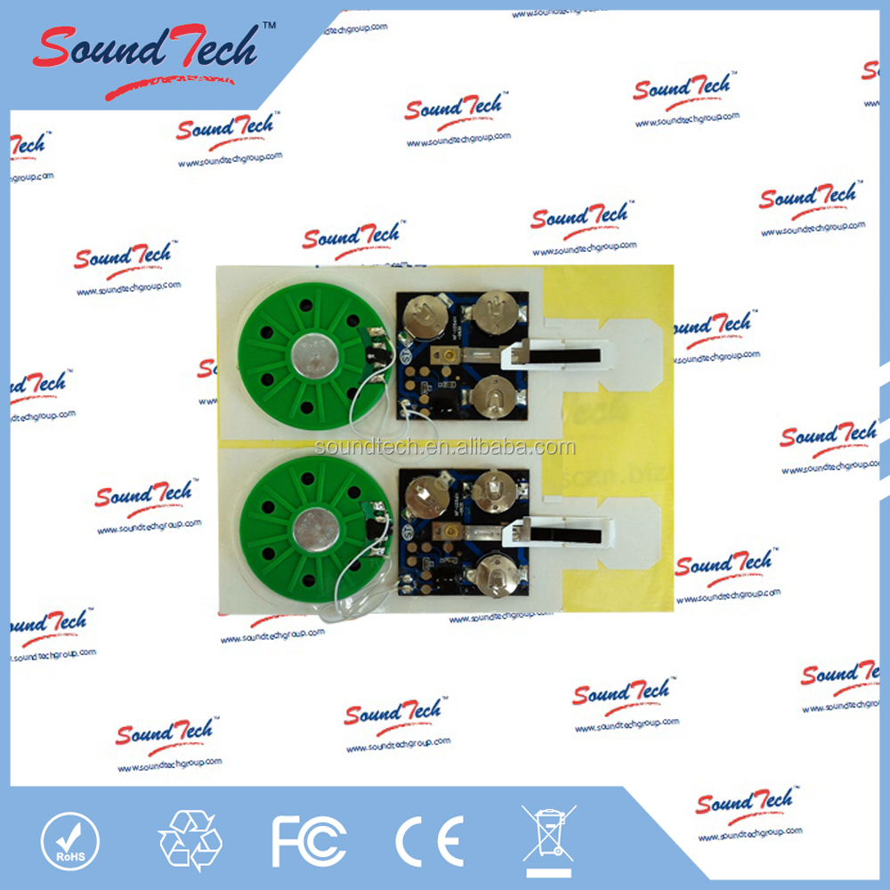 Electronic Components OTP programmable music ic chip for greeting card
