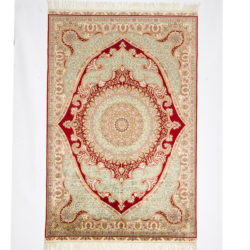 Indian, Persian Style 4x6 Hand Knotted Carpet / Rug - (Multi)