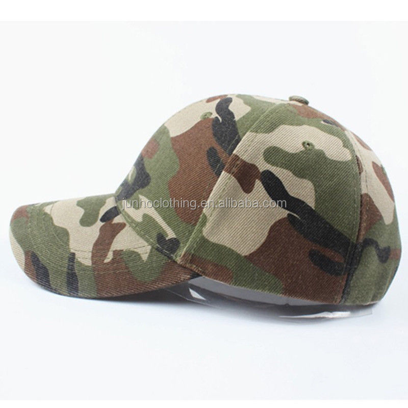Custom whithout logo military sports lady snapback cap camo women baseball army winter hat