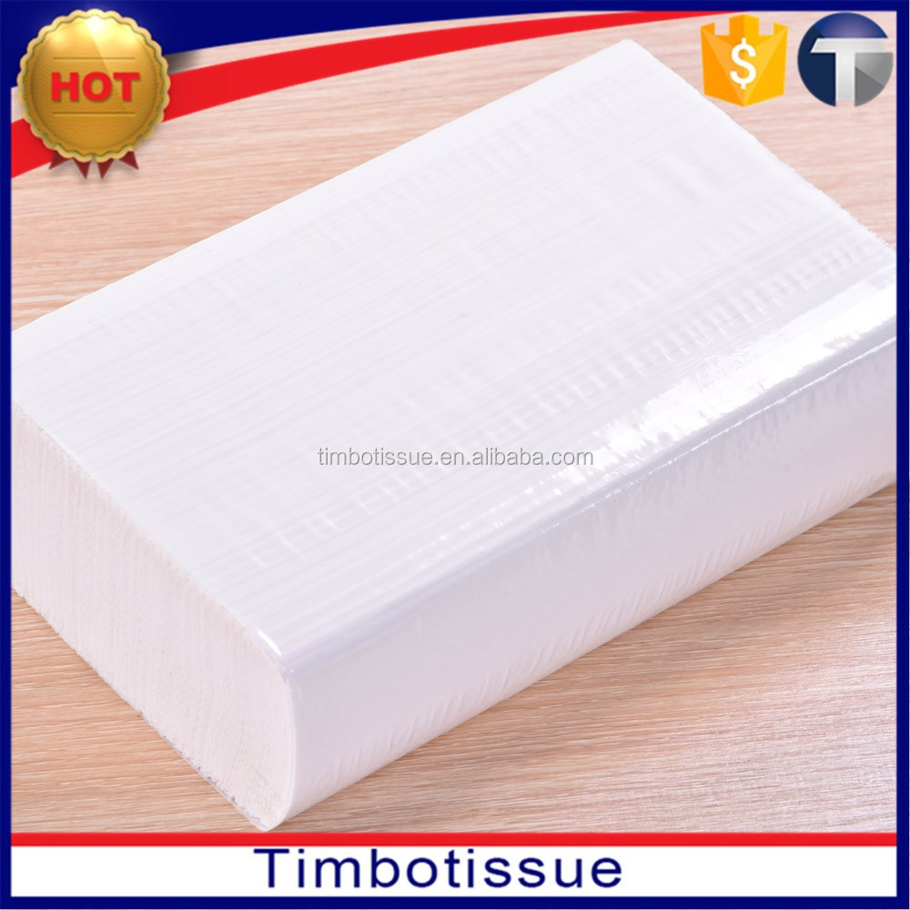 christmas cheap wholesale virgin white paper hand tissue towels