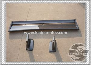 R34 GTR STYLE REAR SPOILER WITH JUN BASE SMALL BLADE CARBON