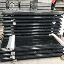 wholesale no paint natural stone China shanxi black granite per square meter