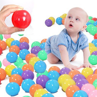 PE balls Type and PE Material white plastic ball pit balls